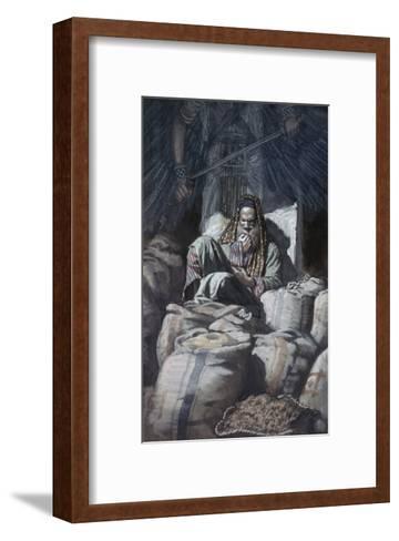 Man Who Laid Up Treasure-James Tissot-Framed Art Print