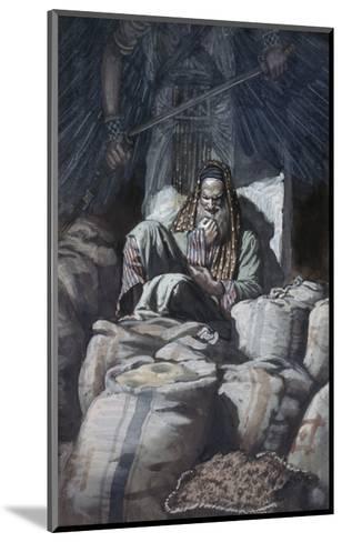 Man Who Laid Up Treasure-James Tissot-Mounted Giclee Print