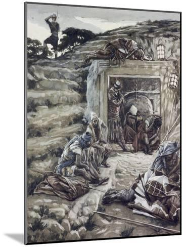 Roman Guards at the Tomb-James Tissot-Mounted Giclee Print