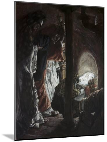 Adoration of the Wise Men-James Tissot-Mounted Giclee Print
