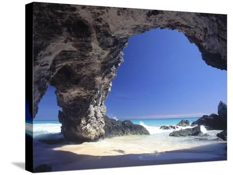 Natural Arches, Tuckers Town, Bermuda-Robin Hill-Stretched Canvas Print