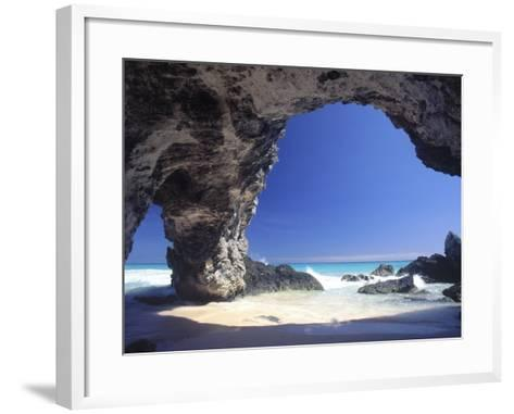 Natural Arches, Tuckers Town, Bermuda-Robin Hill-Framed Art Print