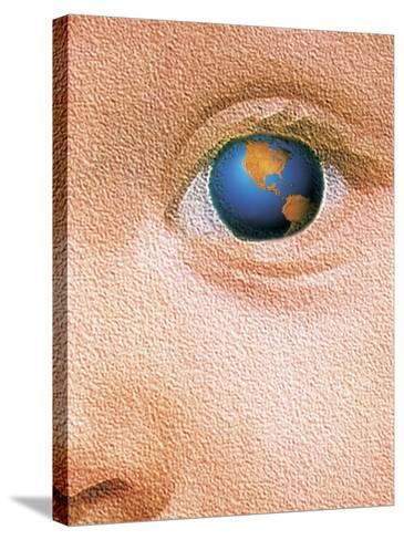 World Through the Eyes of a Child-Greg Smith-Stretched Canvas Print
