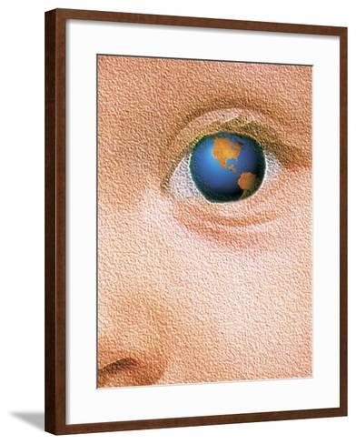 World Through the Eyes of a Child-Greg Smith-Framed Art Print