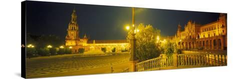 Plaza De Espana, Seville, Southern Spain-Peter Adams-Stretched Canvas Print