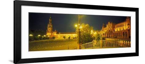 Plaza De Espana, Seville, Southern Spain-Peter Adams-Framed Art Print