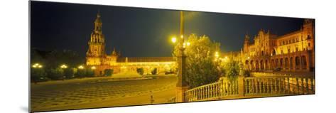 Plaza De Espana, Seville, Southern Spain-Peter Adams-Mounted Photographic Print