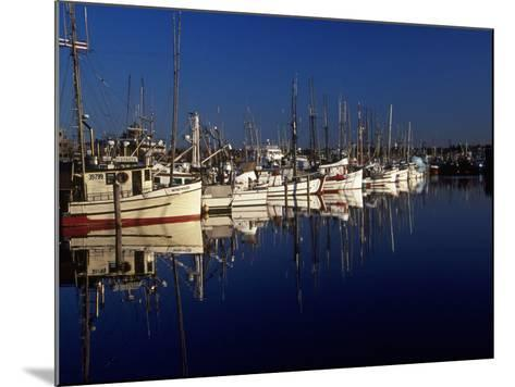 Fishing Boats in Port, Ballard, WA-Christopher Jacobson-Mounted Photographic Print