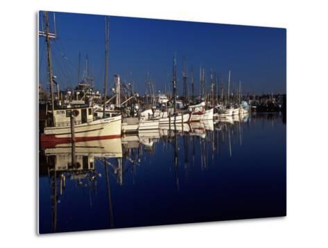 Fishing Boats in Port, Ballard, WA-Christopher Jacobson-Metal Print