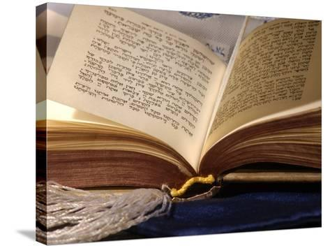 Jewish Prayerbook, Sidur-Keith Levit-Stretched Canvas Print