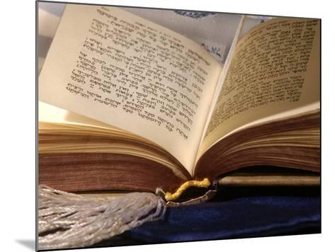 Jewish Prayerbook, Sidur-Keith Levit-Mounted Photographic Print