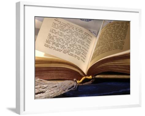 Jewish Prayerbook, Sidur-Keith Levit-Framed Art Print