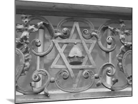 Iron Work in Historic Jewish Quarter, Prague-Keith Levit-Mounted Photographic Print