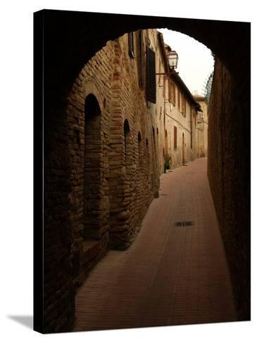 San Gimignano, Tuscany, Italy-Keith Levit-Stretched Canvas Print