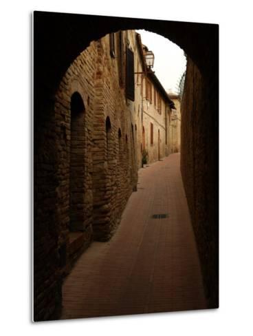 San Gimignano, Tuscany, Italy-Keith Levit-Metal Print