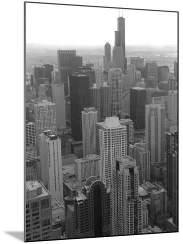 Aerial View of Chicago-Keith Levit-Mounted Photographic Print