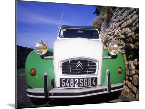 Citroen Car, Provence, France-David Scott-Mounted Photographic Print