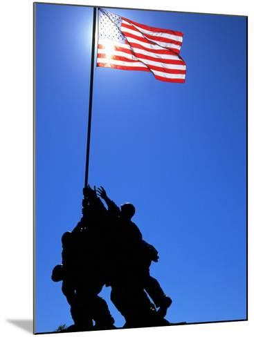 Iwo Jima Memorial, Arlington, VA-Jeff Greenberg-Mounted Photographic Print
