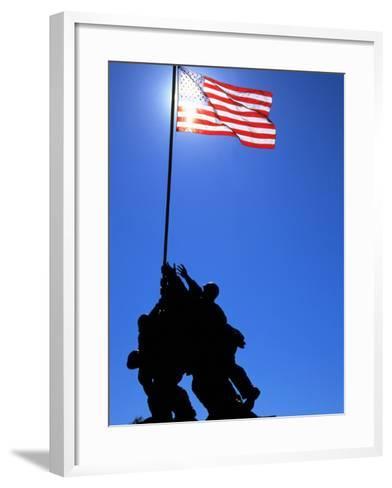 Iwo Jima Memorial, Arlington, VA-Jeff Greenberg-Framed Art Print