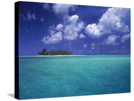 Bora Bora Lagoon, Pacific Islands-Mitch Diamond-Stretched Canvas Print