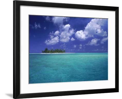 Bora Bora Lagoon, Pacific Islands-Mitch Diamond-Framed Art Print