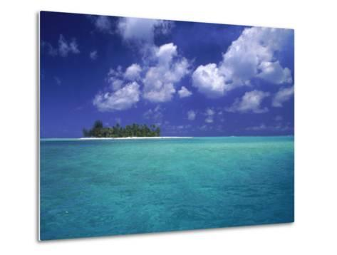 Bora Bora Lagoon, Pacific Islands-Mitch Diamond-Metal Print