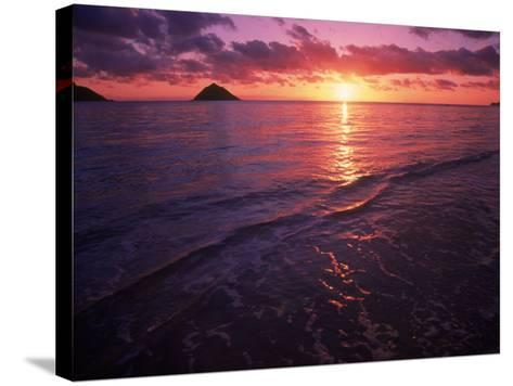 Sunrise in Hawaii-Tomas del Amo-Stretched Canvas Print