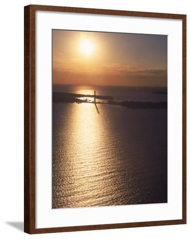 Sunset on Put-In-Bay, Ohio-Jeff Friedman-Framed Art Print