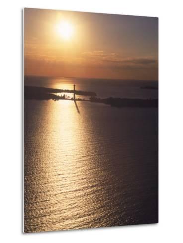 Sunset on Put-In-Bay, Ohio-Jeff Friedman-Metal Print