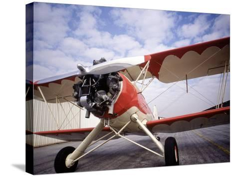 B-1 Plane-Doug Mazell-Stretched Canvas Print