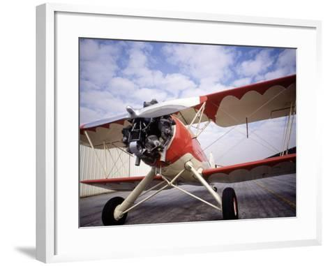 B-1 Plane-Doug Mazell-Framed Art Print