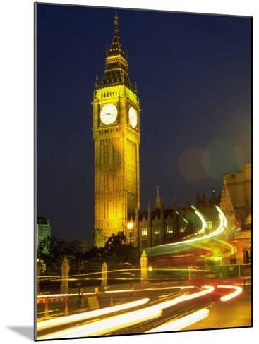 Big Ben at Night, London, UK-Bruce Clarke-Mounted Photographic Print