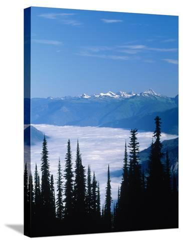 Columbia River Valley, Canada-Don Grall-Stretched Canvas Print