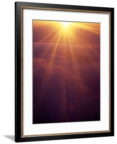 Majestic Sunset-Hal Gage-Framed Art Print