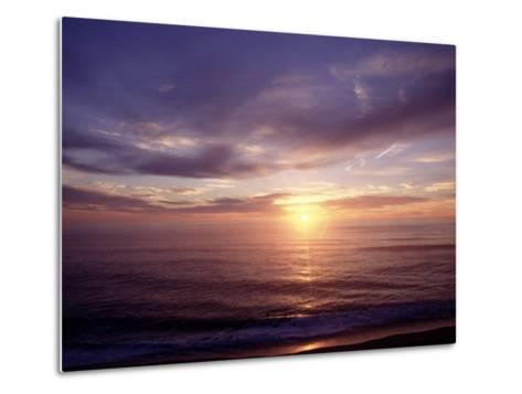 Sunrise on Nuset Beach, Cape Cod, MA-John Greim-Metal Print