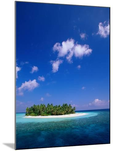 Uninhabited Tropical Island, Ari Atoll, Maldives-Stuart Westmorland-Mounted Photographic Print
