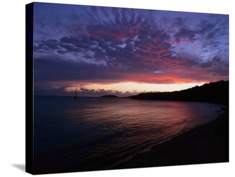 Bay at Sunset, Culebra, Puerto Rico-Dan Gair-Stretched Canvas Print