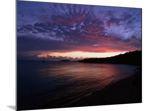 Bay at Sunset, Culebra, Puerto Rico-Dan Gair-Mounted Photographic Print