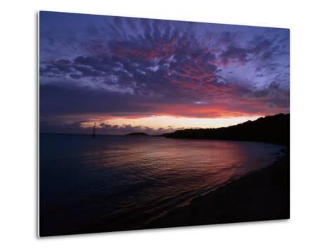 Bay at Sunset, Culebra, Puerto Rico-Dan Gair-Metal Print