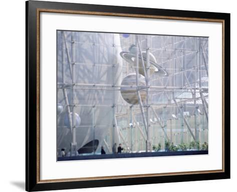 Planetarium, Museum of Natural History, NYC, NY-Barry Winiker-Framed Art Print