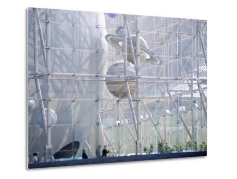 Planetarium, Museum of Natural History, NYC, NY-Barry Winiker-Metal Print