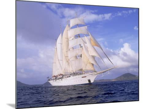 Star Clipper, 4-Masted Sailing Ship-Barry Winiker-Mounted Photographic Print