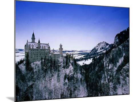 Neuschwanstein Castle, Bavaria, Germany-Walter Bibikow-Mounted Photographic Print