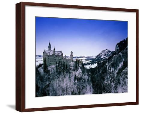 Neuschwanstein Castle, Bavaria, Germany-Walter Bibikow-Framed Art Print