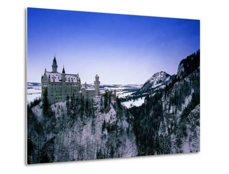 Neuschwanstein Castle, Bavaria, Germany-Walter Bibikow-Metal Print