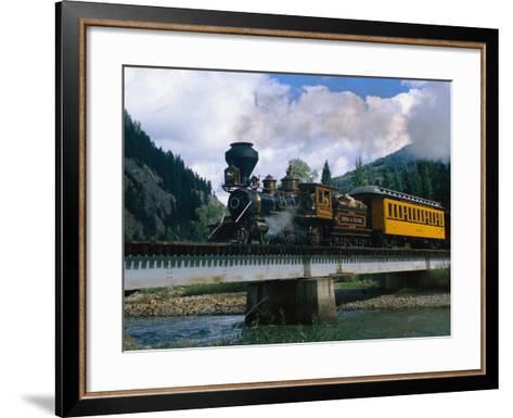 Durango-Silverton Line, CO-Sherwood Hoffman-Framed Art Print