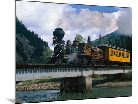 Durango-Silverton Line, CO-Sherwood Hoffman-Mounted Photographic Print