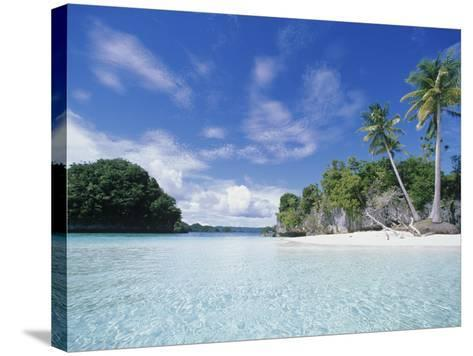 Honeymoon Island, Rock Island-Stuart Westmorland-Stretched Canvas Print