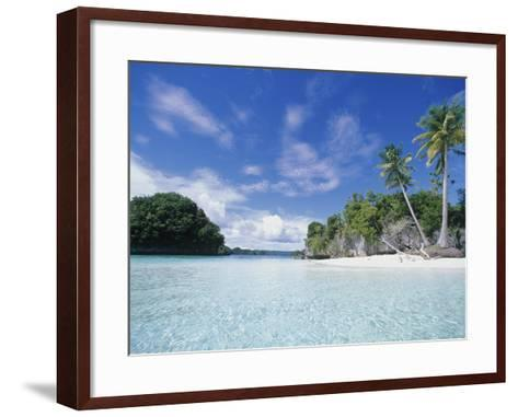 Honeymoon Island, Rock Island-Stuart Westmorland-Framed Art Print