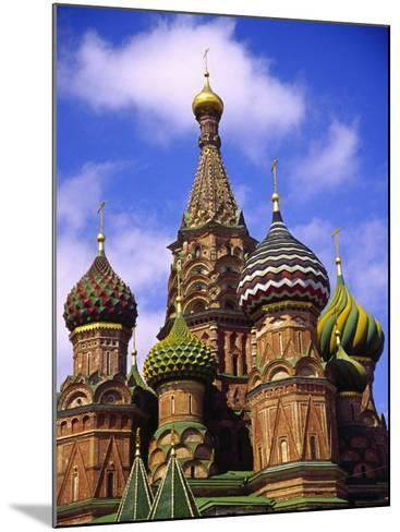 St. Basil's Cathedral, Moscow, Russia-Doug Page-Mounted Photographic Print